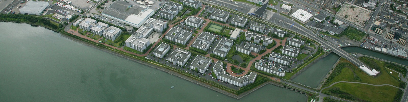 East Point business Park, close to the international financial services centre and the O2
